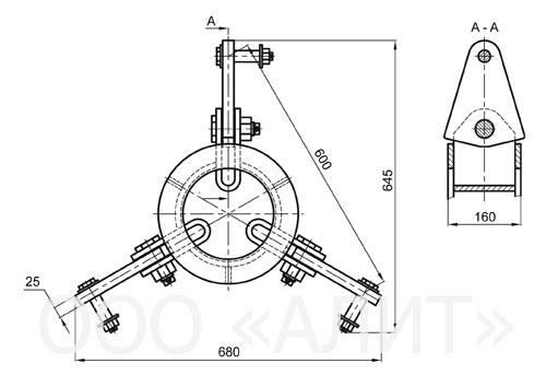 2345kl2 - Коромысла типа КЛ
