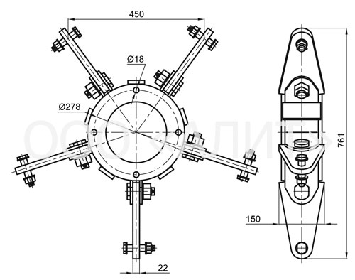 2345kl4 - Коромысла типа КЛ