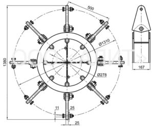 2345kl6 303x250 - Коромысла типа КЛ