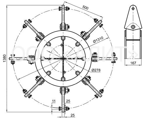 2345kl6 - Коромысла типа КЛ