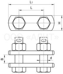 2PR 214x250 - Звенья промежуточные двойные типа 2ПР