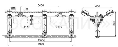 3ps2 1 - Распорки специальные типа РС, 2РС, 3РС