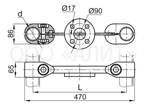 3ps4 - Распорки специальные типа РС, 2РС, 3РС