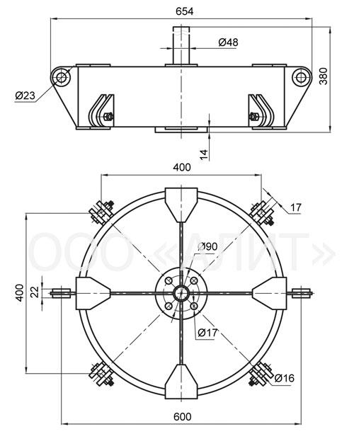 4KD2 25 1 - Коромысло типа 4КД2-25-1