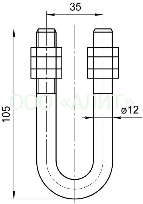 KG 123 - Узлы крепления типа КГ