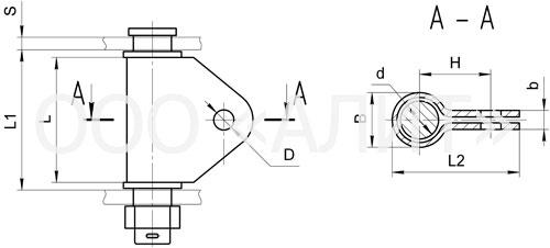 KGN - Узлы крепления типа КГН