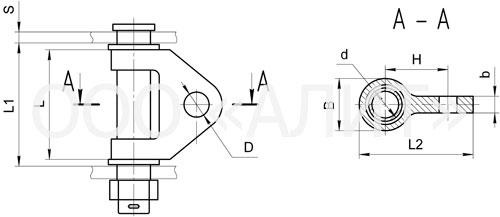 KGN2 - Узлы крепления типа КГН