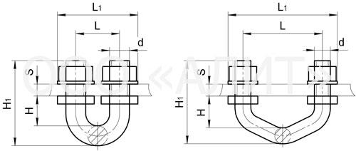 KGP3 - Узлы крепления типа КГП