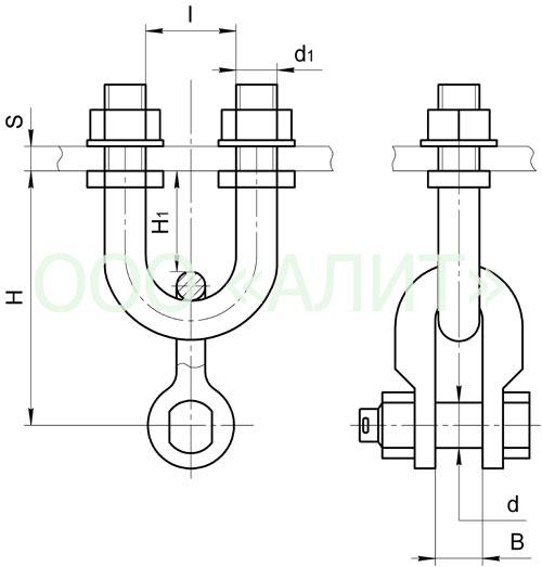 KGP6 - Узлы крепления типа КГП