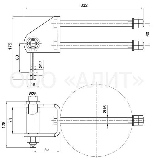 KGT - Узел крепления КГТ-7-1