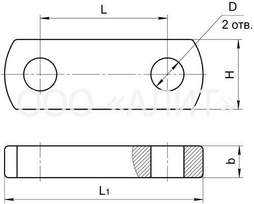 PR3 - Звенья промежуточные прямые типа ПР