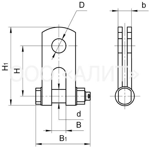 SKT - Скобы трехлапчатые типа СКТ