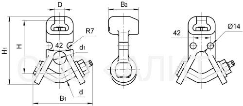 USK - Ушки специальные типа УС и УСК