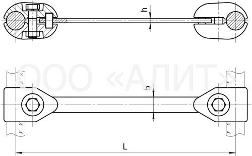 image1 2 - Распорки глухие универсальные РГУ