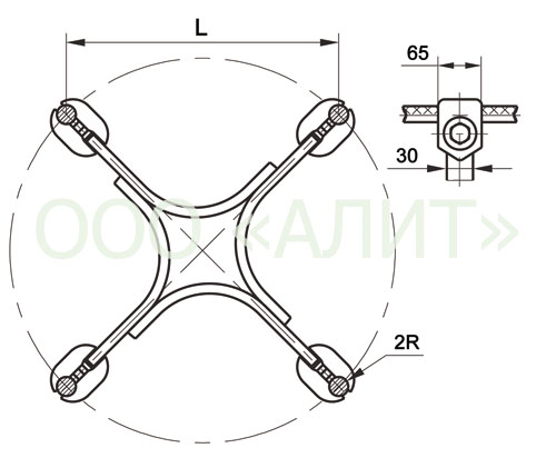image2 1 - Распорки дистанционные глухие 3РГ, 4РГ