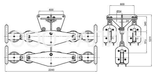 image3 - Подвесы шестироликовые типа 2П6Р, 3П6Р