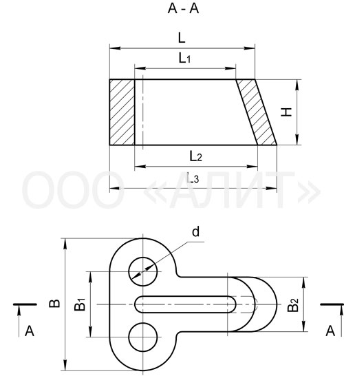 zazhimy odno dvuhklinovye klinya dlya stalnyh kanatov2 - Зажимы одно-, двухклиновые, клинья для стальных канатов